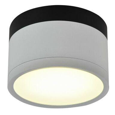 Oprawa natynkowa TUBA IP20 śr. 8.8 cm biało-czarna LED CANDELLUX