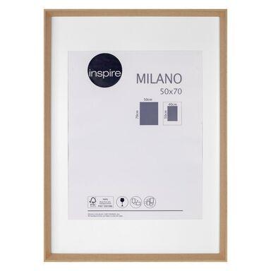 Ramka na zdjęcia Milano 50 x 70 cm dąb MDF Inspire