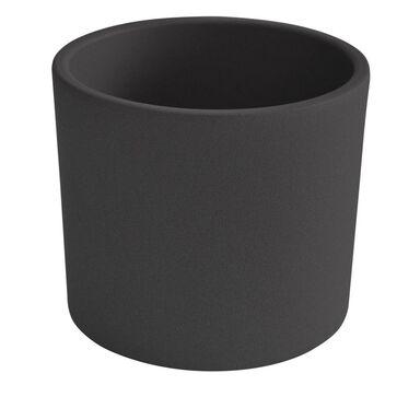 Osłonka ceramiczna 17 cm antracytowa WALEC CERAMIK
