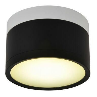 Oprawa natynkowa TUBA IP20 śr. 8.8 cm czarno-biała LED CANDELLUX