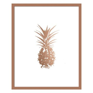 Obraz MODERNPIK GOLD ANANAS 27 x 33 cm