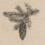 Serwetki eko Cone 33 x 33 cm 20 szt.