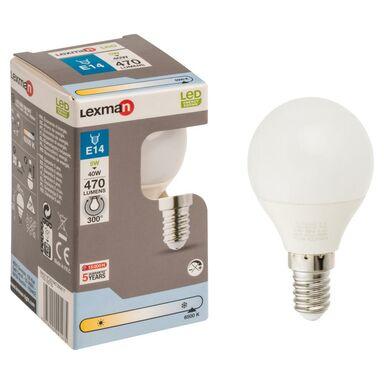 Żarówka LED E14 (230 V) 5,5 W 470 lm LEXMAN