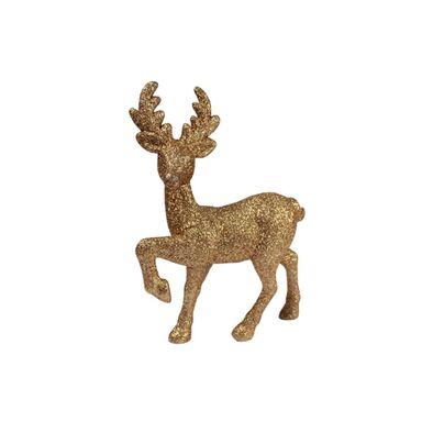 Figurka złoty jeleń 20 cm