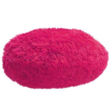 Poduszka okrągła Queen różowa 45 x 45 cm