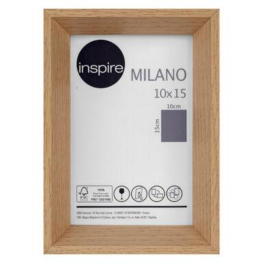 Ramka na zdjęcia Milano 10 x 15 cm dąb MDF Inspire