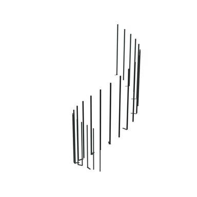 Zestaw tralek do balustrady CALGARY/MONTREAL CLASSIC Antracyt