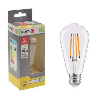 Żarówka LED E27 8 W = 75 W 1055 lm Ciepła LEXMAN