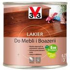 Lakier DO MEBLI I BOAZERII 0.25 l Dąb średni Połysk V33