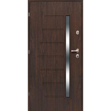 Drzwi wejściowe HEL Orzech alpejski 90 Lewe LOXA