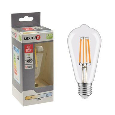 Żarówka LED E27 8 W = 75 W 1055 lm Neutralna LEXMAN