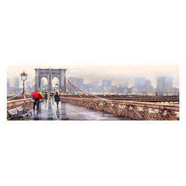 Kanwa NY BRIDGE WATERCOLOR 140 x 45 cm