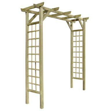 Pergola ogrodowa 210 x 72 x 214 cm drewniana STELMET