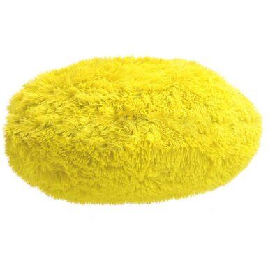 Poduszka okrągła Queen żółta 45 x 45 cm