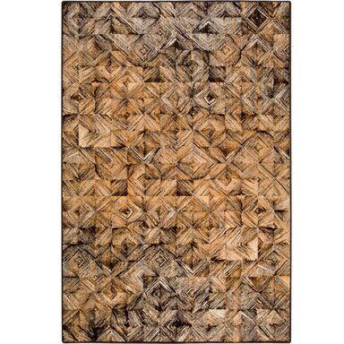 Dywan wełniany ESTERA brązowy 200 x 300 cm