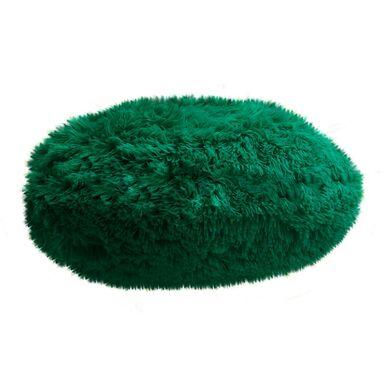 Poduszka okrągła QUEEN zielona 45 x 45 cm