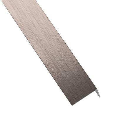 Kątownik aluminiowy 1 m x 30 x 30 mm anodowany miedź