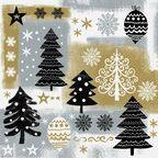 Serwetki świąteczne CHRISTMAS DESIGN 33 x 33 cm 20 szt.