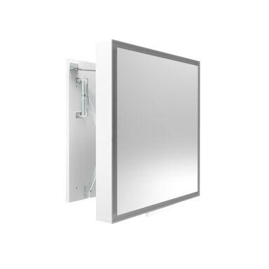 Lustro z wbudowanym oświetleniem ODSUWANE LED 58 x 60 MIRANO