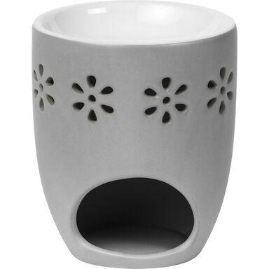 Kominek ceramiczny CREATIONS wys. 11.4 cm szary