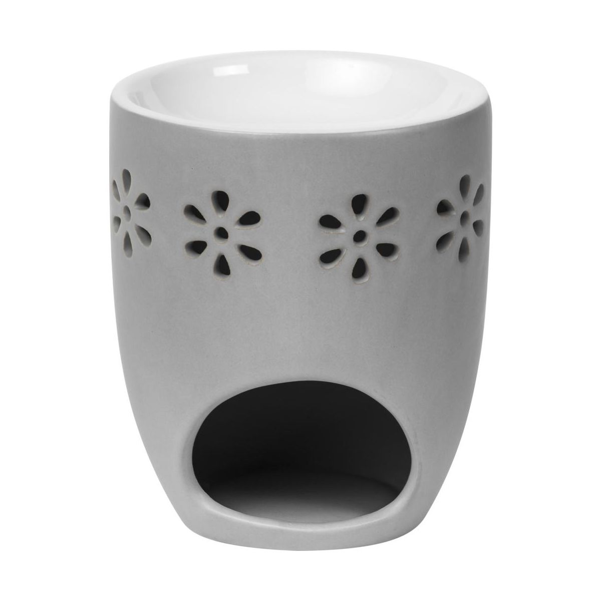 Kominek Ceramiczny Creations Wys 11 4 Cm Szary Swieczniki Latarenki W Atrakcyjnej Cenie W Sklepach Leroy Merlin