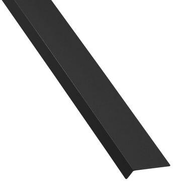 Kątownik PVC 1 m x 40 x 10 mm połysk czarny