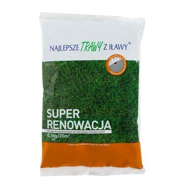 Trawa renowacyjna SUPER RENO 0,5 kg NAJLEPSZE TRAWY Z IŁAWY