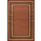 Dywan APIUM czerwony 230 x 340 cm wys. runa 8 mm AGNELLA