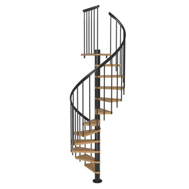 Schody spiralne MONTREAL Classic 3 Buk fornirowany 120 cm DOLLE