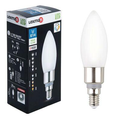 Żarówka LED E14 z pilotem CCT/DIM 5.5 W = 40 W 470 lm LEXMAN