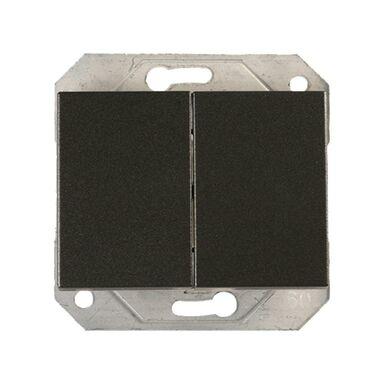 Włącznik podwójny VILMA P510-020-02GR GRAFIT DPM