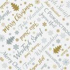 Serwetki świąteczne XMAS WISHES 33 x 33 cm 20 szt.