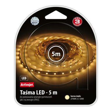 Zestaw taśmy LED IP65 5m 2700K AJE-LED STRIPE 2700K ACTIVEJET