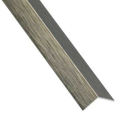Kątownik aluminiowy 1 m x 11 x 11 mm tytan szczotkowany STANDERS