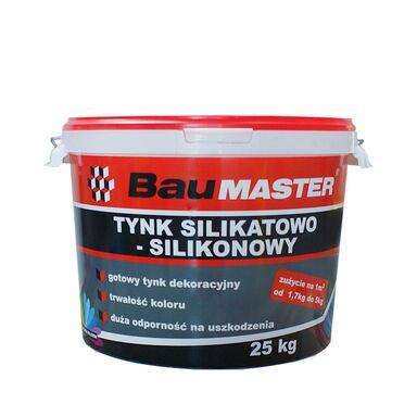 Tynk silikatowo-silikonowy K741 25 kg BAUMASTER