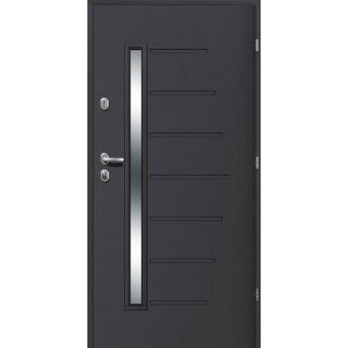 Drzwi wejściowe HEL 90 Prawe LOXA