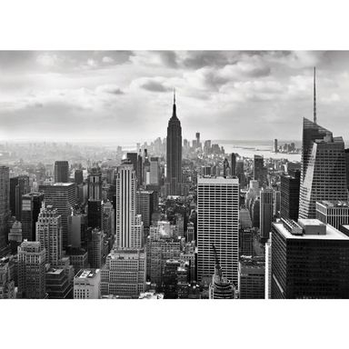 Fototapeta NEW YORK BLACK&WHITE 254 x 368 cm