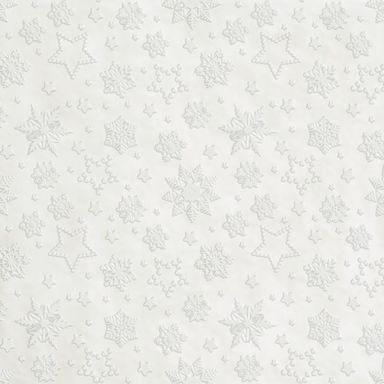 Serwetki świąteczne WINTER FLAKES perłowe 33 x 33 cm 20 szt.