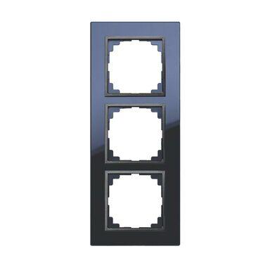 Ramka potrójna ASTORIA  Antracytowy  ELEKTRO-PLAST