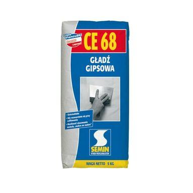 Gładź szpachlowa CE68 5 kg SEMIN