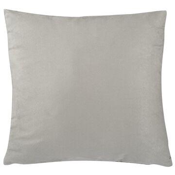 Poduszka Suede szara 45 x 45 cm Inspire