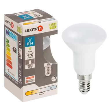 Żarówka LED E14 (230 V) 5 W 470 lm LEXMAN