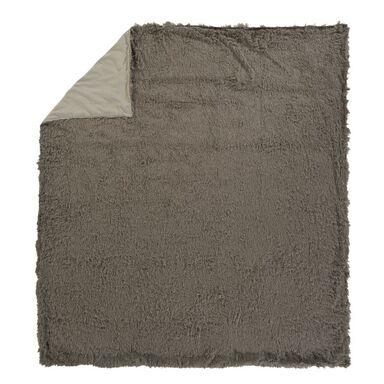 Narzuta LAMA szara 200 x 220 cm INSPIRE