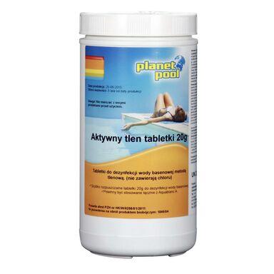 Produkt do pielęgnacji wody basenowej AKTYWNY TLEN 1 kg PLANET POOL