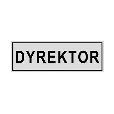 Znak informacyjny DYREKTOR 8 x 22 cm