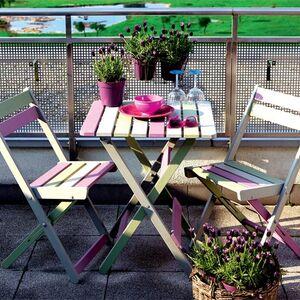 Kolorowe meble na balkon porady leroy merlin - Balkon bescherming leroy merlin ...