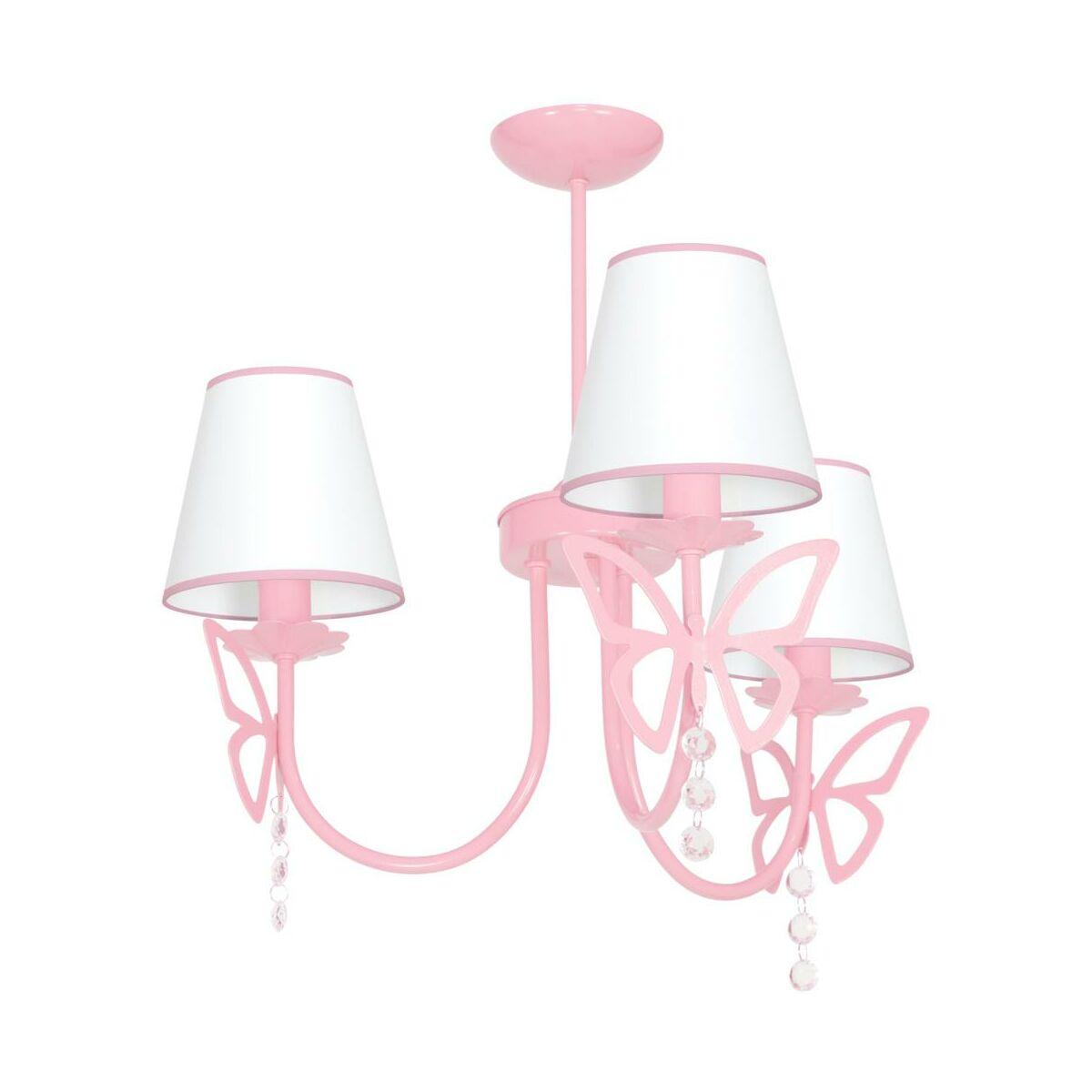 Lampa Wiszaca Charlotte Rozowa E14 Eko Light Zyrandole Lampy Wiszace I Sufitowe W Atrakcyjnej Cenie W Sklepach Leroy Merlin