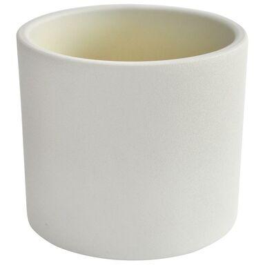 Osłonka ceramiczna 28 cm biała WALEC CERAMIK