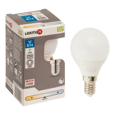 Żarówka LED E14 (230 V) 3,3 W 250 lm LEXMAN