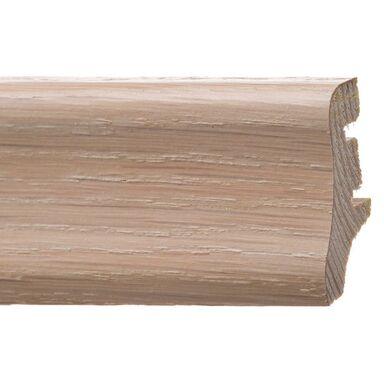 Listwa przypodłogowa Dąb biały lakierowany 40 mm BARLINEK
